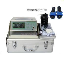 Wholesale aqua chi foot detox machine ionizer foot detox machine with electric massage pad and massage slipper