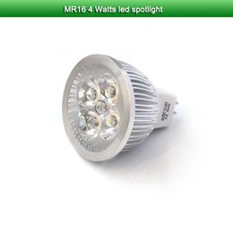 Wholesale 5X MR w ac dc volt spotlights Aluminum warm white nature white w epistar chip high power led spotlight
