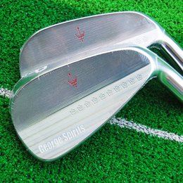 Hot sale New mens Golf Heads George spirits Golf irons Heads 4-9P Irons club heads Free shipping