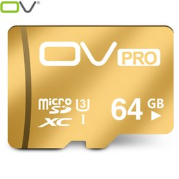 Wholesale OV micro sd PRO Extreme U3 new version MB s card GB GB GB TF memory cards card best choice for K video for Smartphone