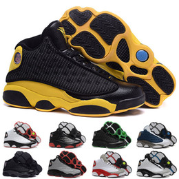 10 Colours (With shoes Box) Hot Sale Retro 13 He Got Game 309259-104 White Black Men Shoes Kids Free Shipping size 8-13