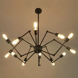 Wholesale DHL Free American industrial Loft Vintage pendant light E27 Edison bulb iron black painted for living dining room home decoration lamp