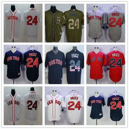 Wholesale Boston Red Sox David Price Navy Blue Usa Flag Gray Red White Fashion Stars Stitched Cool Base Majestic MLB Baseball Jerseys Supplier