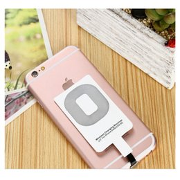 Wholesale Qi Wireless Charger Receiver Wireless Charging Adapter Receptor Receiver For iPhone C S S S Universal Smartphones