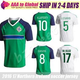 Wholesale Northern Ireland soccer Jerseys green shirt camiseta de futbol Northern Ireland Football shirts McNAIR K LAFFERTY DAVIS Jersey