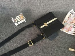 Wholesale new arrival women fashion letter nylon diamond lattice portable shopping shoulder bag special offer
