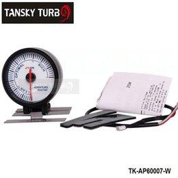 Wholesale Tansky AP MM AIR FUEL GAUGE ELECTTRO LUMINESCENT Air Fuel meter AIR FUEL GAUGE white TK AP60007 W Orignal color box