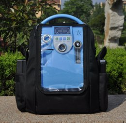 Lovego G1 medical portable oxygen concentrator matched with two batteries for COPD