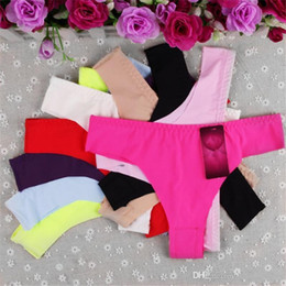 New Fashion Sexy Women's Girl Panties Panties Knickers Thongs Briefs Lingerie Seamless Underwear G String Intimates for Ladies