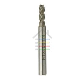 Promotion forets en métal Nouveau x HSS CNC Shank droite 4 Forets Mill Flute Fin Fraise en métal 3/16