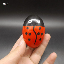 Children Wooden Sand Eggs Instruments Percussion Musical Toys Baby Kids Gifts