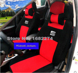 Wholesale Cheap Remotes For Cars - niversal Car Seat Covers For SEAT Ibiza Toledo Leon Marbella Terra Martorell BLACK WHTIE GRAY car accessories Cheap car remote control c...