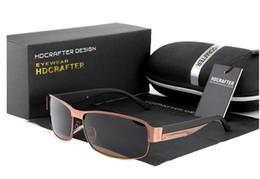 Best seller Anti-Glare brand Polarized Sunglasses Mercury coated anti reflection Aluminum magnesium alloy frame outdoor protect glasses E007