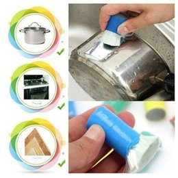 Wholesale 2016 New Hot Sale Magic Decontamination Stick Stainless Steel Metal Rust Remover Cleaning Brush