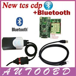 Wholesale NEC Relays TCS CDP Pro with Green PCB Board R2 Free Active Auto Diagnostic Scan Tools Equipment CDP With Bluetooth Cars Trucks