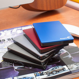 Wholesale 2 quot seagate external hard drives hot sale backup plus USB high speed GB TB TB colorful portable hard drives