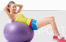 Wholesale New Pilates Yoga Ball Balance Stability Health Gym Exercise Ball Yoga Fitness CM CM cm cm customizable For all color Size
