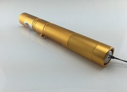 new 532nm green laser pointer high power adjustable focus burning match with safe keys free shipping