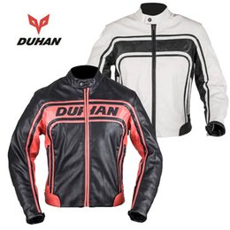 Wholesale autumn and winter dunham faux leather PU drop resistance clothing ride service automobile race jackets motorcycle clothing