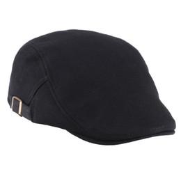 Wholesale-1 PC Casual Winter Autumn Warm Men Women Duckbill Ivy Cap Golf Driving Flat Cabbie Newsboy Beret Hat