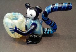 Wholesale High quality glass pipe creative imitation animal pipe mm mm g manufacturer