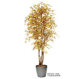 Wholesale Artificial Golden silver birch cypress