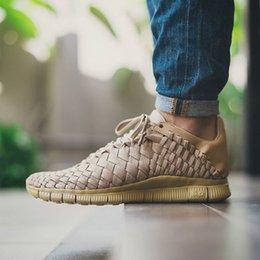 Wholesale 2016 New Arrival top quality Free Inneva Woven Tech SP men shoes SUNSET GLOW LIGHT AQUA khaki milk white for color size