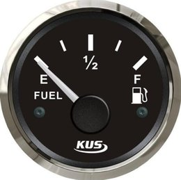 Wholesale 1pc KUS Oil Level Gauge Fuel Level Gauge V V For Boat Or Automobile Black Color