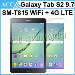 Refurbished Original Samsung Galaxy Tab S2 9.7 SM-T815 T815 9.7 inch Wifi + 4G LTE 3GB RAM 32GB ROM 8.0MP Camera Android Tablet PC