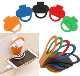 Wholesale 2016 New Arrival Flexible Cell Phone Cellphone Car Air Vent Stand Hanger battery charging Holders Can be folded