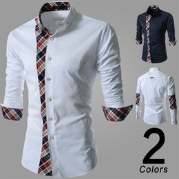 Men shirt casual shirt mens dress shirts polo mens floral print shirt men's long sleeve shirt plaid shirt stitching