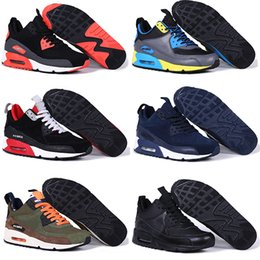 Wholesale 2016 Original Air BEST quality MAX High triple men winter Sneaker shoes For online hot sale Eur size