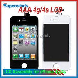 Wholesale Grade AAA Quality iPhone iPhone s LCD Front LCD Assembly Touch Screen Digitizer Replacement Part Frees Shipping