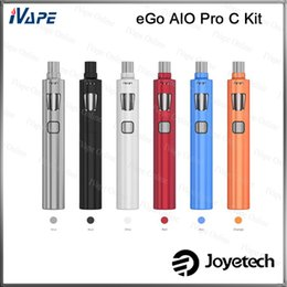 100% Original Joyetech eGo AIO Pro C Kit All-in-one Style With 4ml Top Filling Top Airflow Control Atomizer Anti-Leaking With Child Lock