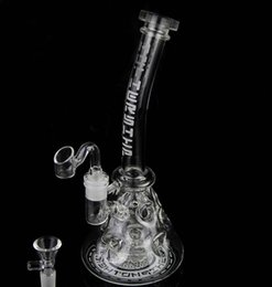 Bong! Newest Thick Glass Bongs Recycler Oil Rigs Bong Fab Egg Glass Water Pipe Glass Smoking Pipes Hookahs 2 Function 14.5mm Joi