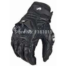 Venta caliente de la motocicleta en venta-venta caliente de la bici fresco guantes de moto paseo en moto guantes de carreras caballero de cuero de conducción de ATV BMX MTB bicicleta ciclismo Guantes para motociclistas