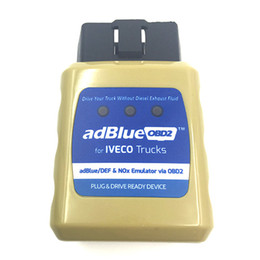 Wholesale AdblueOBD2 Diagnostic Tools for IVECO Trucks Best Cheap DEF NOx Emulator Via OBD2 Plug and Drive Ready Device for Iveco