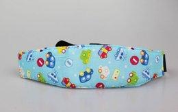Wholesale Infants And Baby Head Support Pram Stroller Safety Seat Fastening Belt Adjustable Playpens Sleep Positioner WA0282