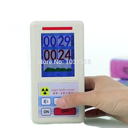 Wholesale Geiger counter Nuclear radiation detector Personal dosimeters Marble detector nuclear radiation tester With a display screen
