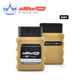 Wholesale New Arrival AdblueOBD2 For DAF Trucks Adblue OBD2 For DAF Adblue DEF Nox Emulator Via OBD2 Adblue OBD2 Scanner tool