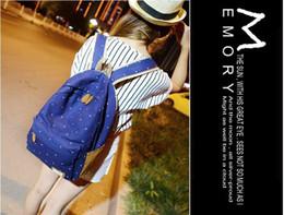 2017 New Design 9 Colors Canvas Shoulder Backpacks Women Diaper Bags Korean Style School Rucksack Deuter Backpacks Student rucksack Deuter