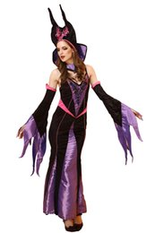 2016 Sexy Halloween Party Queen Costumes Stage Performance Dress Up Outfit Cosplay Gothic Witch Costumes Zombie Queen Night Club Dress