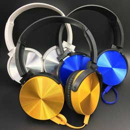 Wholesale Headphones Cheap MIC Noise Cancelling Headset Personalized Printing Folding Cheap Best Quality Headphone Headset Best Pvrtable Headphones
