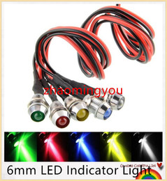 Wholesale 50PCS New mm LED Indicator Light Lamp Bulb Pilot Dash Directional Car Truck Boat V UK of colours