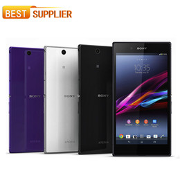 Wholesale Original Sony Xperia Z Ultra XL39H Cell phone Quad Core GB RAM G G C6802 C6833 quot Touch MP Camera WIFI GPS Unlocked mobile Phone