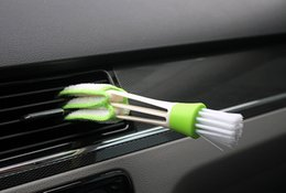 Wholesale Automobile air conditioner air outlet brush brush car gap brush cleaning brush corner brush instrument panel brush
