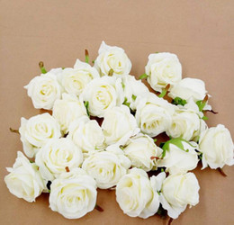 Wholesale Wedding decoration artificial flower artificial flowers roses flower ball head floral arches flower head DIY flower wall material HJIA413