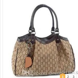 Wholesale HOT New Tassel Canvas Chain Bag for Women Top Quality Fashion Handbag Designer Ladies Shoulder Messenger Bag Bolsas Tote