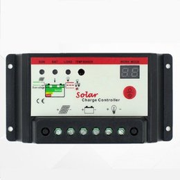 Wholesale 10A V V LCD Solar Charge Controller Panel Battery Regulator Auto Switch Overload Protection Temperature Compensation XGX K20 Model
