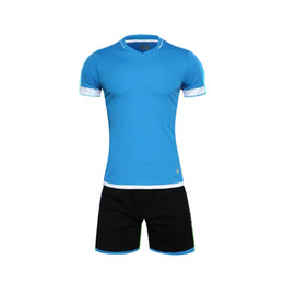 Wholesale Boys short Sports wear Athletic Jogging Clothing Kits Kids Running sets Soccer team football Jersey shorts Children